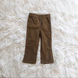 Perfect fall brown cord pants from Mud pie 2T